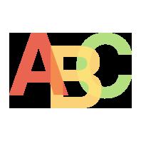 Word-mark logo