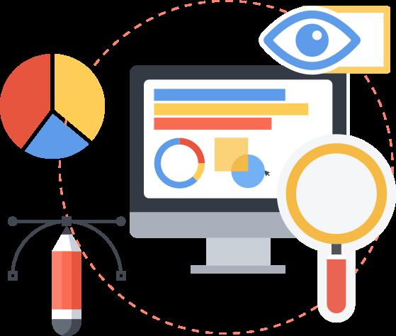 Custom info-graphics and visuals
