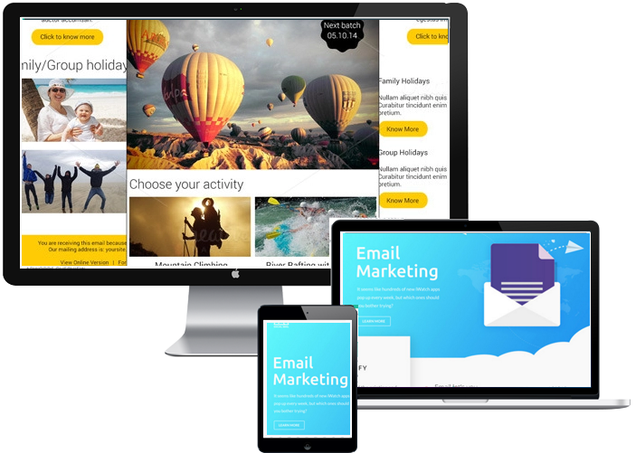 Email marketing personalization and automation